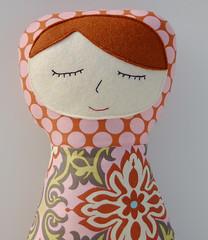 Pink Damask Georgia Doll