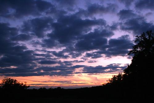 blue sunset sky clouds virginia eod va 2008 1023 endofday 366 2310 lortonva 102308 3662008 meadowoodreceractionarea