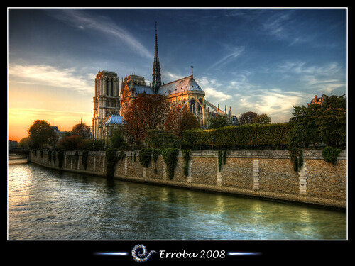 Notre-Dame Cathedral @ Seine, Paris, France :: HDR