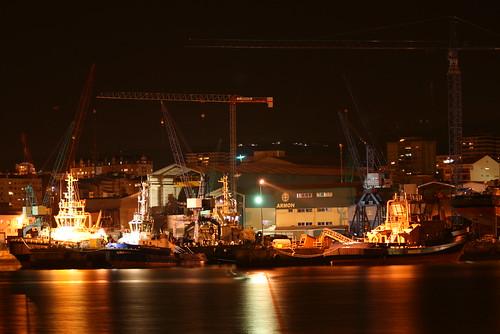 Un astillero gallego