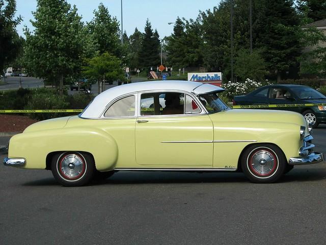 1952 chevrolet 2 door with 1950 grille custom 39 5gvg267 for 1952 chevy 4 door