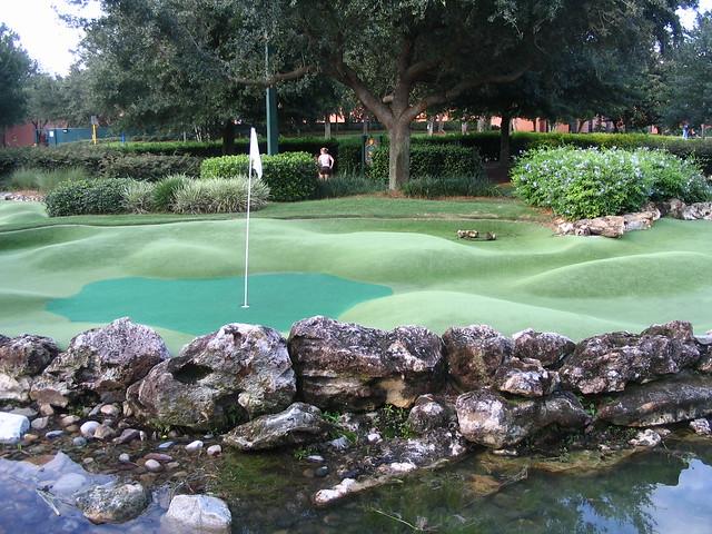 Disney Mini Golf Fantasia Gardens One Of The Holes At Dis Flickr Photo Sharing