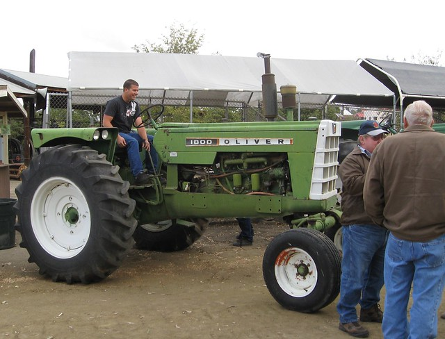 oliver 1800 tractor flickr photo