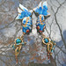 Cerulean Pisces Earrings