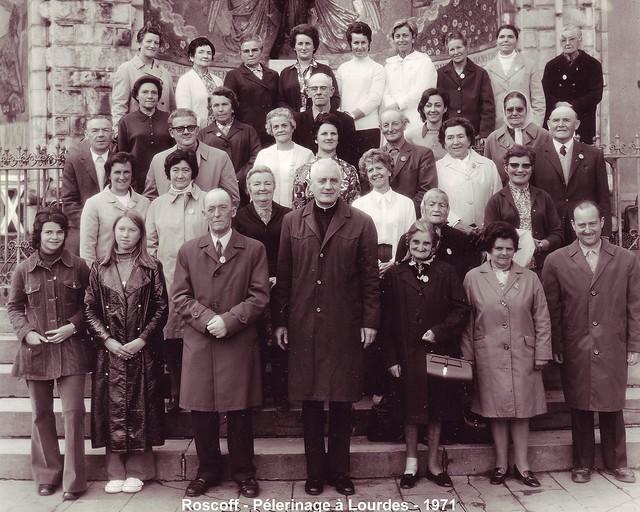 Roscoff - Archives Feutren - Lourdes 1971