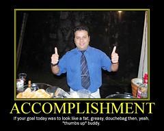 Motivational Poster - accomplishment