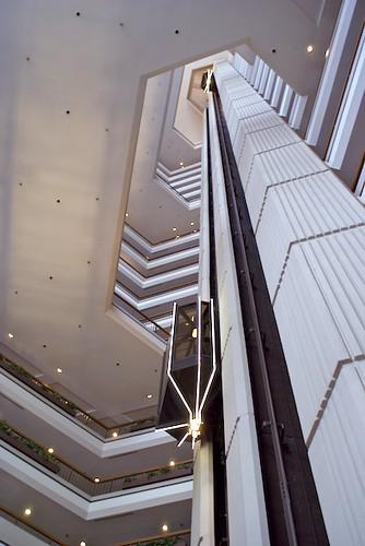 Hilton Towers Atlanta Atrium Elevators Flickr Photo