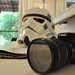 Camera & Storm Trooper Mask