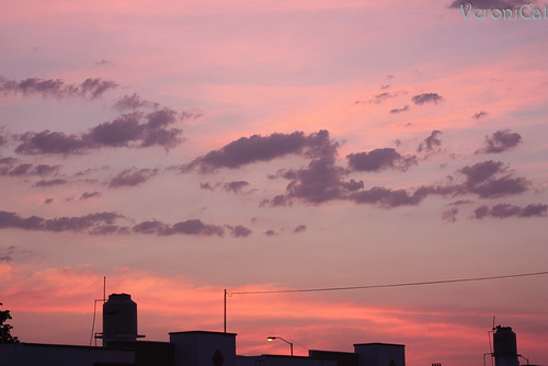 amanecer rosado