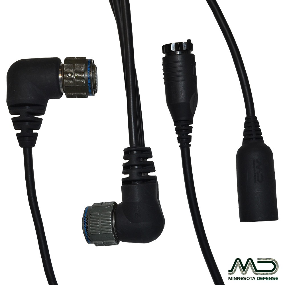 Over-Molded Redized D38999 - Military Connectors