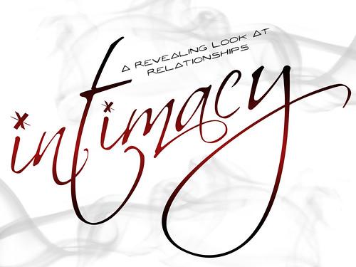Intimacy-Typography