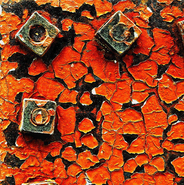 Rust and Cracked Paint