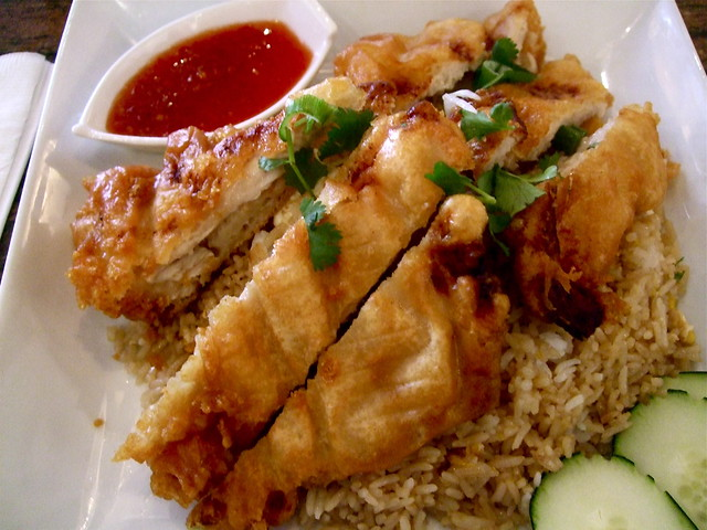 Thai Fried Chicken Fried Rice at Osha | Flickr - Photo Sharing!