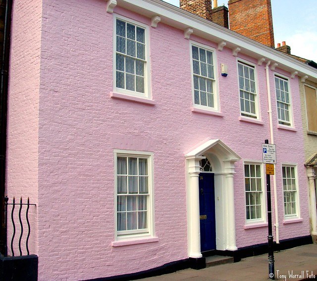 The pink house in carlisle flickr photo sharing for The carlisle house