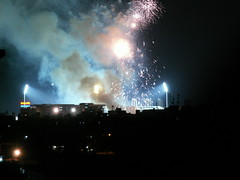 DLF IPL Final Fireworks Images