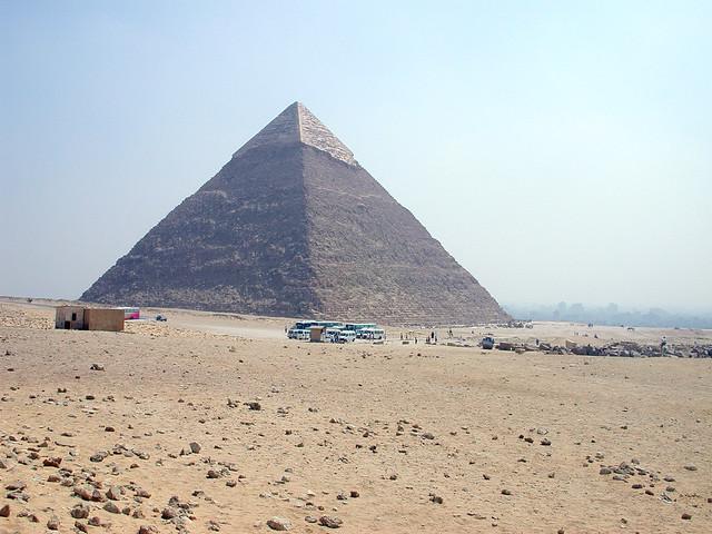 Iced Pyramids