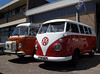 Volkswagen T1 (1964) and T2 camper (1979)