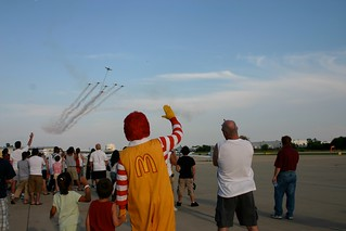 Ronald Comes To 06C