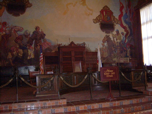 Santa barbara mural room flickr photo sharing for Mural room santa barbara