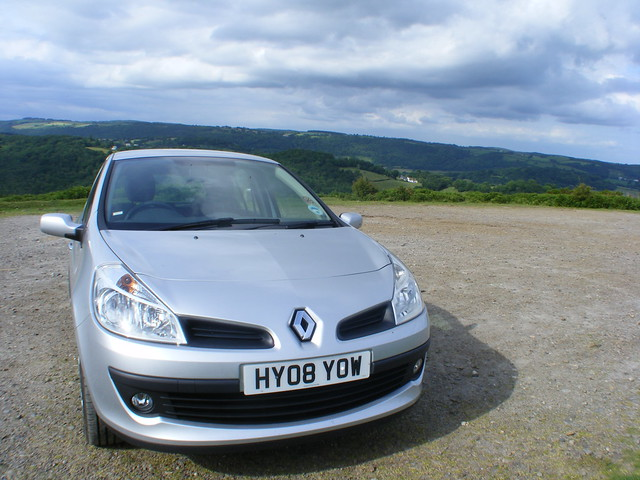 Our lovely Renault Clio