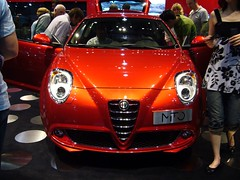 automobile, alfa romeo, exhibition, vehicle, automotive design, auto show, alfa romeo mito, land vehicle, supercar,