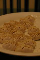stress = dumplings 餃子