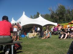 Folk Fest Beer Tents