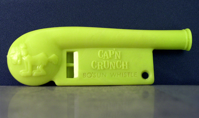 Cap'n Crunch Bosun Whistle
