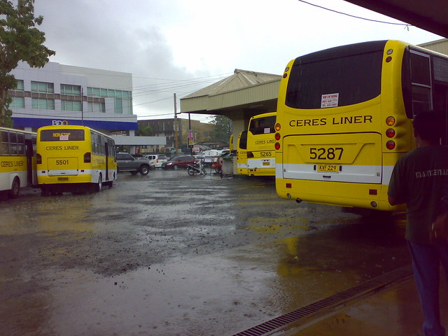ceres bus at northbound bus terminal, bacolod city ...