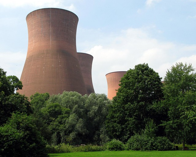Buildwas Power Station Cooling Towers