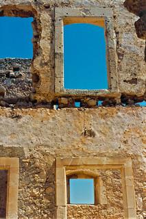 Ruinen-Fenster