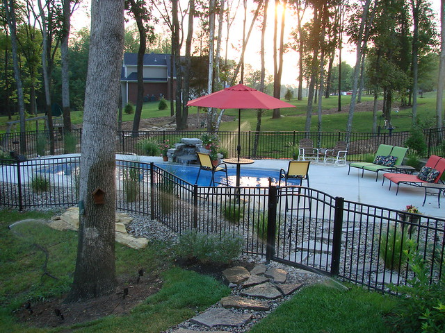 Carmel 32a viking pools custom design clearwater for Pool design louisville ky