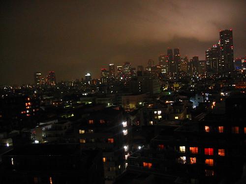Shinjuku breathing at night