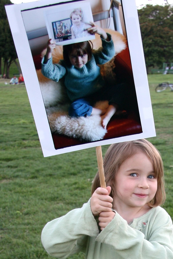 Five year old recursive