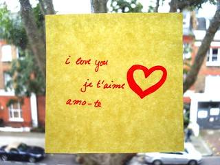 love note / nota de amor