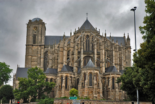 Cathedral St. Julien Le Mans France