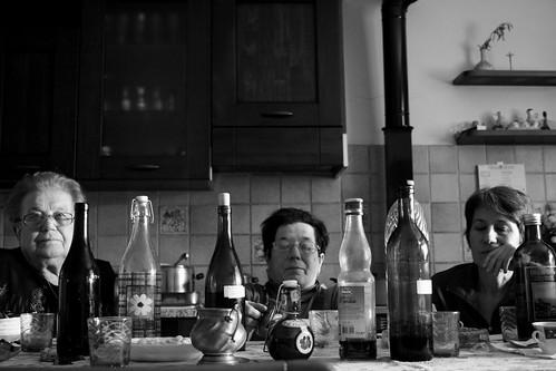 Pranzo di famiglia: le tre matrone