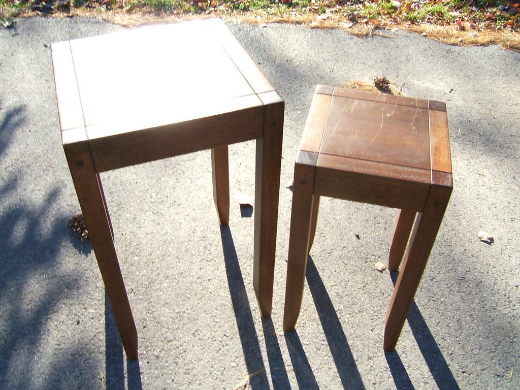 Potterybarn Nesting Tables Sold Campfabian Flickr
