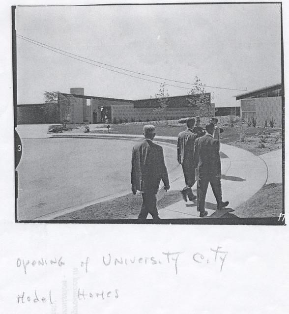 University City Housing Tract, 1960