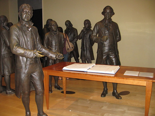 Constitution Signers, National Constitution Center