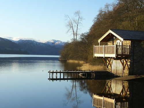 Boathouse on Ullswater