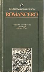 Manuel Alvar, Romancero