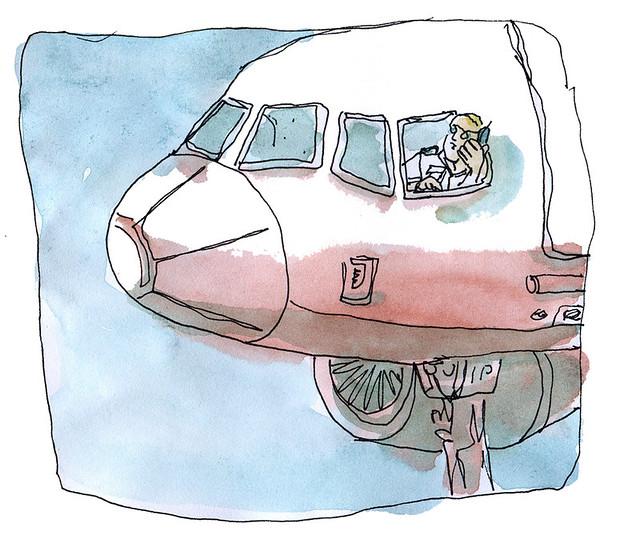 madrid plane