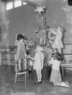 Christmas in Melbourne, 1942