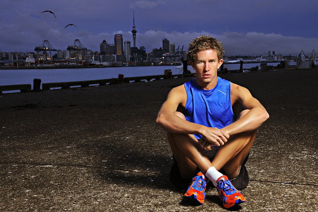 New Zealand Elite triathlete Ryan Sissons