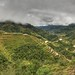 Banaue, Philippines - A rainy day above the rice terraces