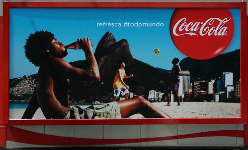 FIFA WOLRD CUP 2014 THIRD SERIES COCA-COLA BACKLITS RIO DE JANIEIRO 3 by roitberg
