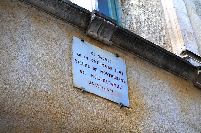 Birthplace of Nostradamus, Saint Remy de Provence, France
