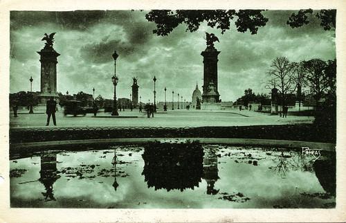 Les Jolis Coins de Paris/Picturesque Corners of Paris,  No 20 Le Pont Alexandre III