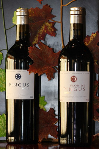 Pingus 2001 & Flor de Pingus 2003